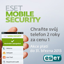 ESET Mobile Security - akce 1+1
